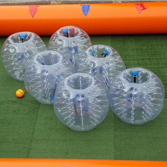 Bubble voetbal set