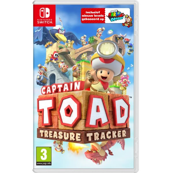 Captain Toad treasure tracker - Switch game